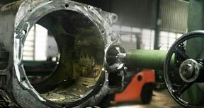 engineering train motor refurbishment