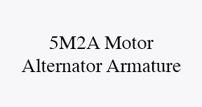 5m2a motor alternator armature