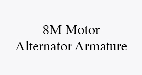 8M motor alternator armature