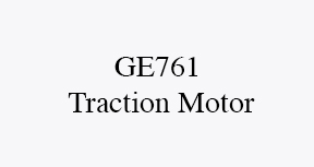 GE761 electric traction motor